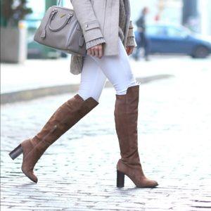 Pour La Victoire over the knee boots
